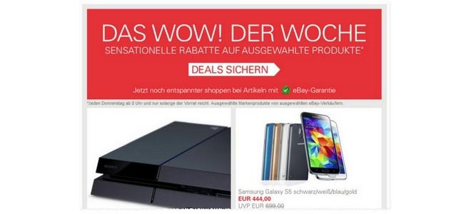 eBay Wochen WOWs
