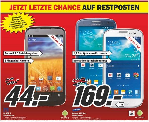 Galaxy S3 Neo bei Media Markt