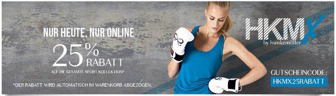 Hunkemöller Gutschein Sportkollektion