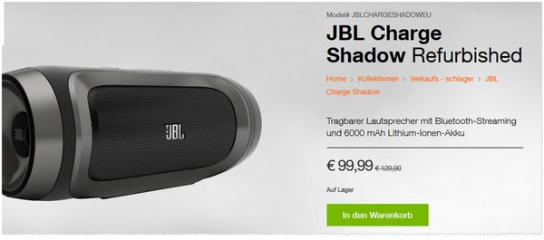 JBL Charge Shadow