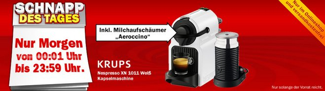 Krups Nespresso XN1011