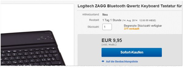 Logitech Zagg kaufen