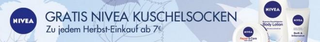Nivea Gratis-Kuschelsocken