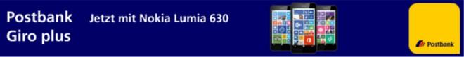 Nokia Lumia 630 Postbank
