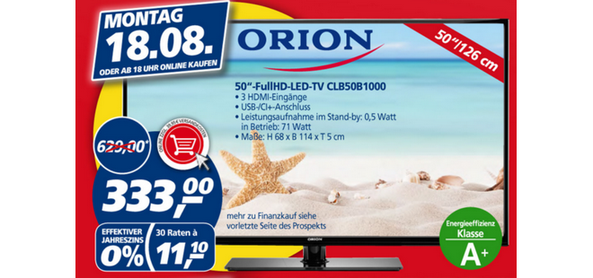 Orion CLB50B1000