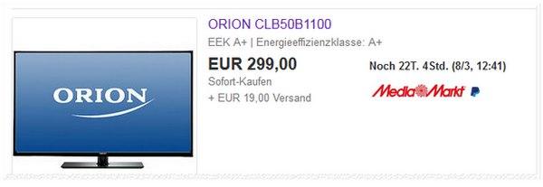 Orion CLB50B1100 bei Media Markt