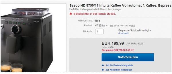 Philips Saeco HD8750/11 Intuita kaufen
