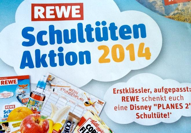 REWE Schultüten-Aktion