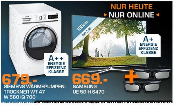 Samsung UE50H6470 Angebot