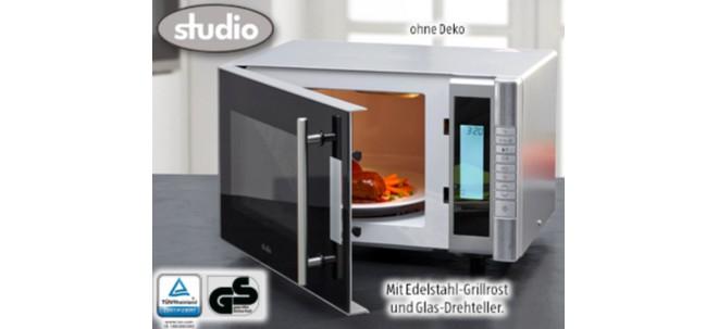 Studio Mikrowelle mit Grill