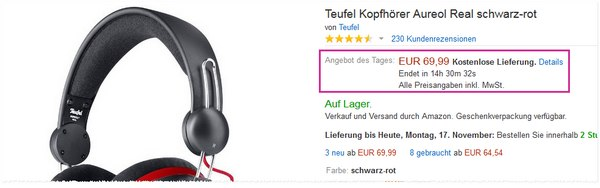 Teufel Aureol Real beim Amazon Cyber Monday