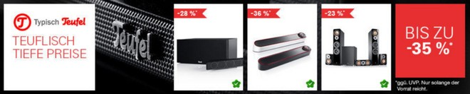 Teufel tiefe Preise Sale eBay