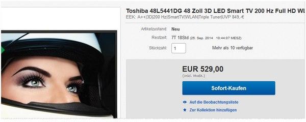 Toshiba 48L5441DG kaufen