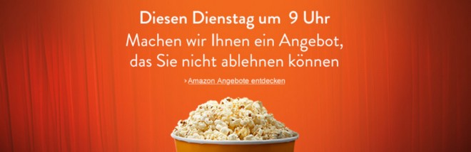 Amazon Aktion mit Dienstagsangebot