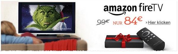 Amazon Fire-TV für 84 €