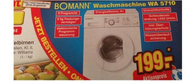 Bomann WA 5710