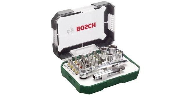 Bosch Ratschen-Set mit Bits