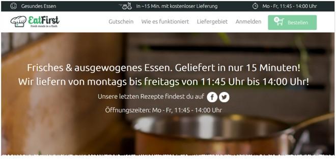 Eatfirst Gutschein