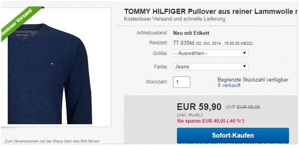 Hilfiger Pullover kaufen
