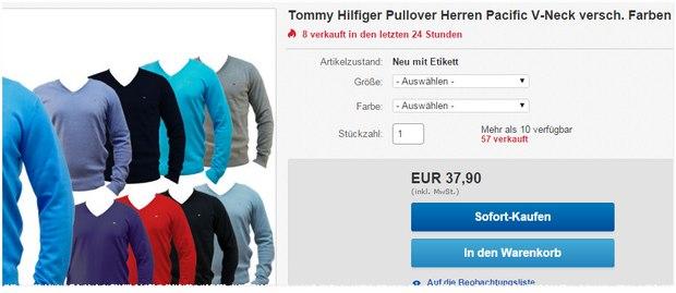 Hilfiger Pullover Pacific kaufen