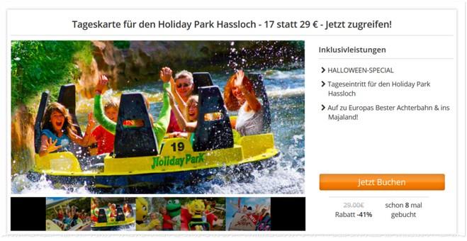 Holiday Park Hassloch Gutschein