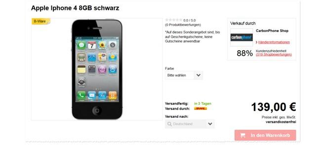 iPhone4 gebraucht