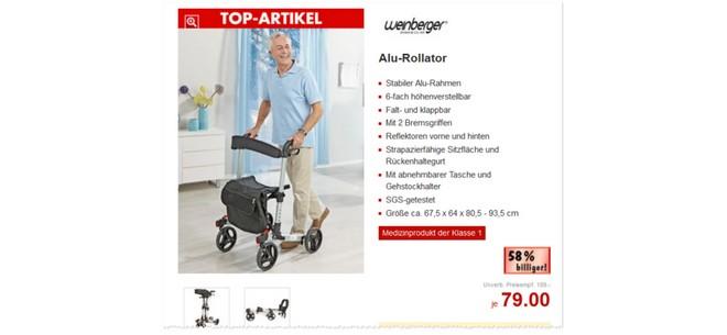 Kaufland Rollator von Weinberger