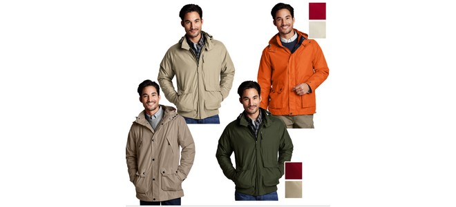 Lands End Windbreaker Jacken