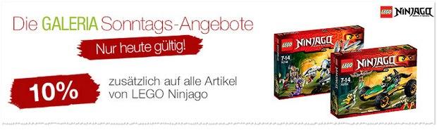 LEGO Ninjago Gutschein bei GALERIA Kaufhof
