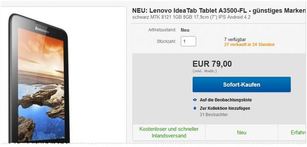 Lenovo IdeaTab A7-40 kaufen