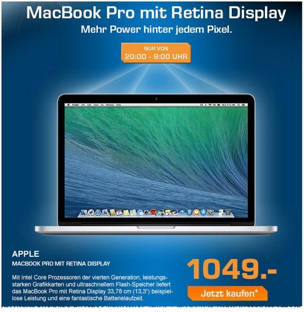 MacBook Pro bei Saturn