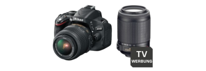 Nikon Kamera D5100 aus der Saturn Werbung