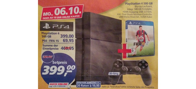 PlayStation 4 Real Deal des Tages