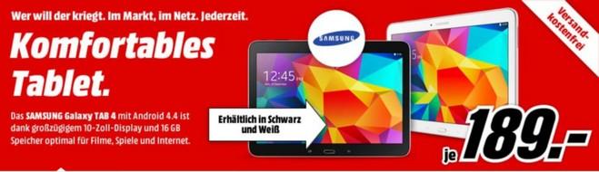 Samsung Galaxy Tab 4 Media Markt