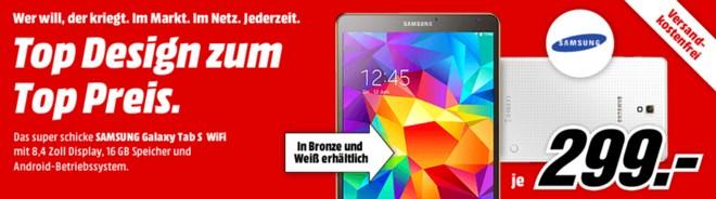 Samsung Galaxy Tab S Werbung