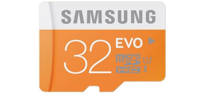 Samsung Micro SD EVO 32 GB