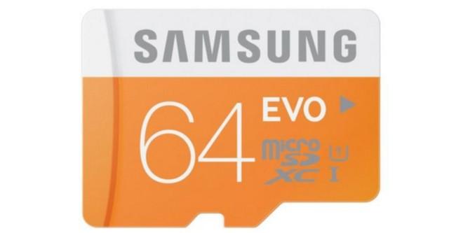 Samsung MicroSD EVO 64 GB