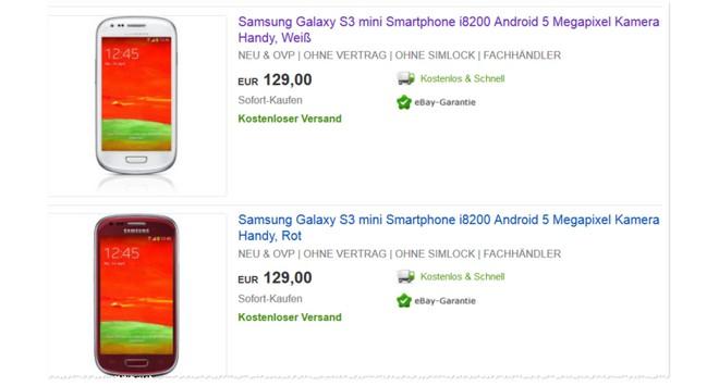 Samsung S3 mini Erfahrungen