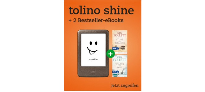 Tolino Shine Ken Follet