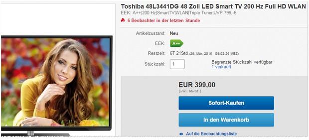 Toshiba 48L3441DG