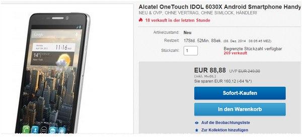 Alcatel One Touch Idol 6030X