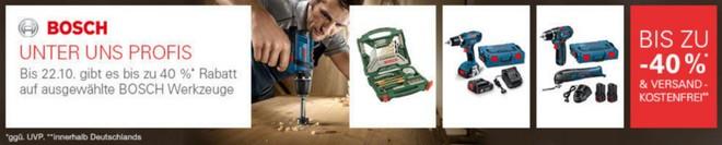Bosch Werkzeug Sonderangebote