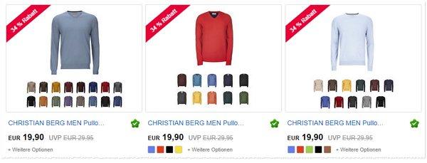 Christian Berg Pullover-Angebot für 19,90 €