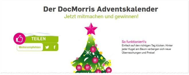DocMorris Online Adventskalender
