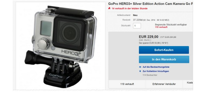 GoPro HERO3Plus Tests
