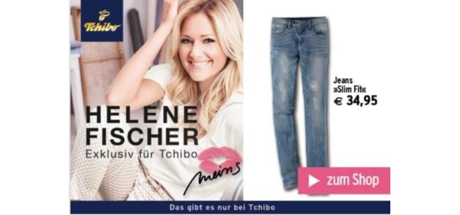 Helene Fischer Sommer-Kollektion 2015 bei Tchibo