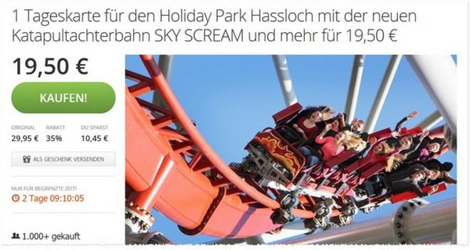 Holiday Park Gutschein bei Groupon