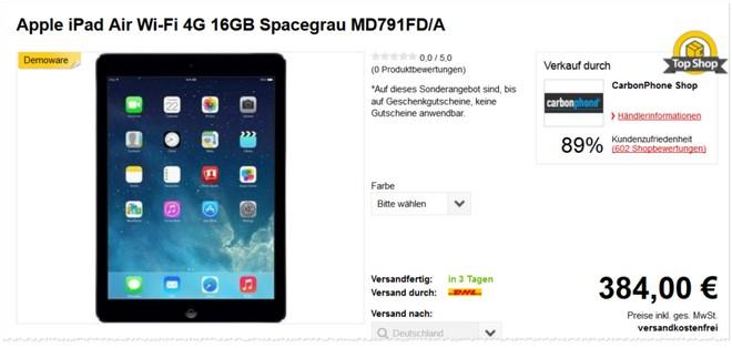 iPad Air gebraucht