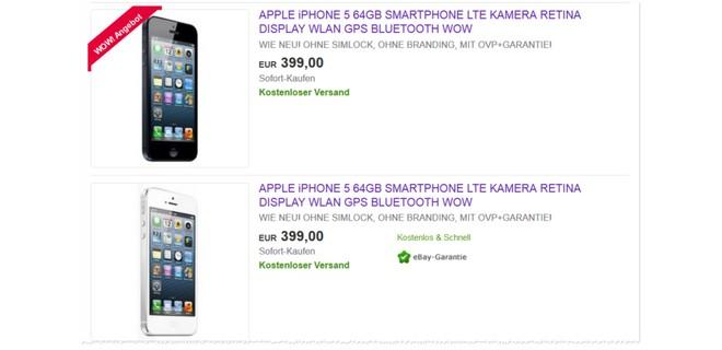 iPhone 5 Apple Refurbished