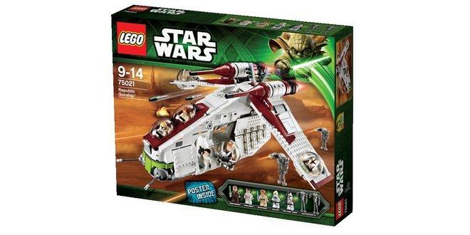 Lego Star Wars Republic Gunship als Real Deal des Tages am 9.10.2014